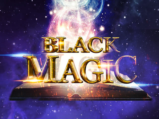 Automat s tématikou magie a mytologie Black Magic HD
